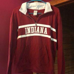PINK Indiana half zip